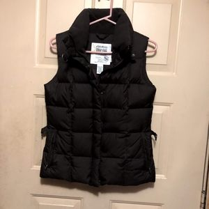 Eddie Bauer Women's Dark Brown Down Vest